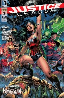 JUSTICE LEAGUE N. 3