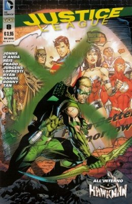JUSTICE LEAGUE N. 8
