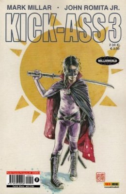 KICK-ASS 3 N. 2  COVER B - PANINI COMICS PRESENTA 41