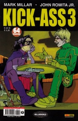 KICK-ASS 3 N. 3  COVER B - PANINI COMICS PRESENTA 42