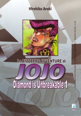 LE BIZZARRE AVVENTURE DI JOJO 18 - DIAMOND IS UNBREAKABLE 1