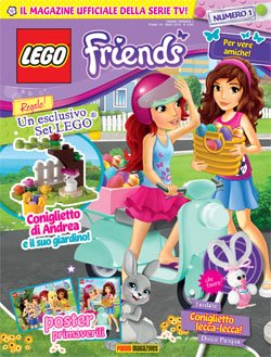LEGO FRIENDS MAGAZINE 1