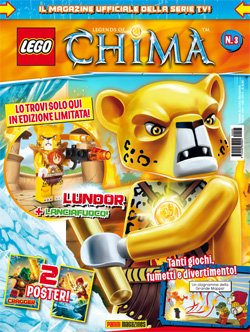 LEGO LEGENDS OF CHIMA MAGAZINE 3