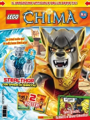 LEGO LEGENDS OF CHIMA MAGAZINE 6