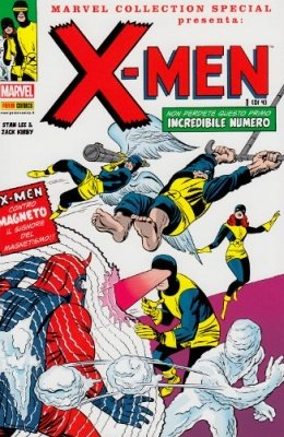 MARVEL COLLECTION SPECIAL 10 - X-MEN 1 CON COFANETTO RACCOGLITORE