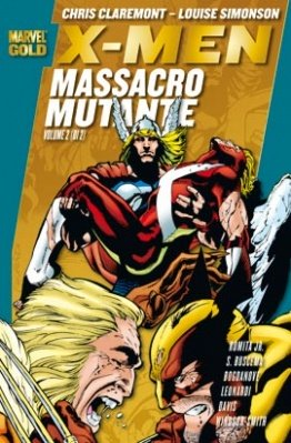 MARVEL GOLD X-MEN MASSACRO MUTANTE VOL. 2