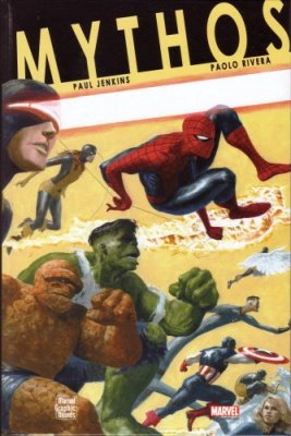 MARVEL GRAPHIC NOVEL MYTHOS