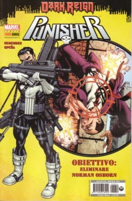 MARVEL MEGA 54 - PUNISHER 1 DARK REIGN