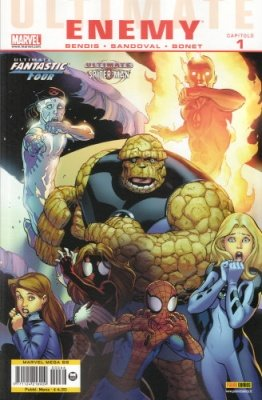 MARVEL MEGA 66 - ULTIMATE COMICS IL NEMICO 1