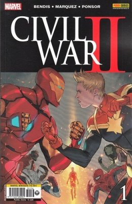 MARVEL MINISERIE 176 - CIVIL WAR II 1