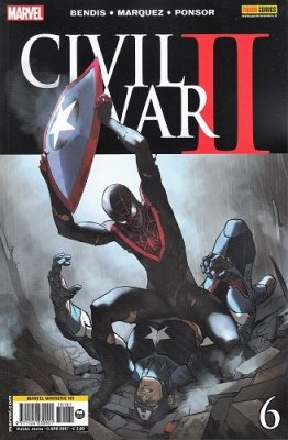 MARVEL MINISERIE 181 - CIVIL WAR II 6