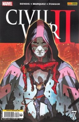 MARVEL MINISERIE 182 - CIVIL WAR II 7