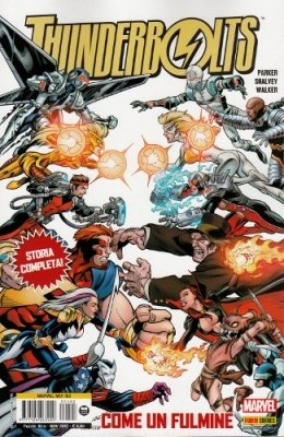 MARVEL MIX 102 - THUNDERBOLTS 10 - COME UN FULMINE
