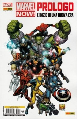 MARVEL NOW POINT ONE - MARVEL PROLOGO - MARVEL WORLD 17