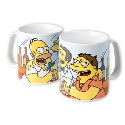 MAXI TAZZA SIMPSONS BEST FRIENDS