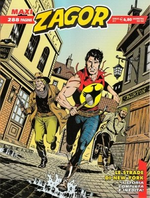 MAXI ZAGOR 29 - LE STRADE DI NEW YORK