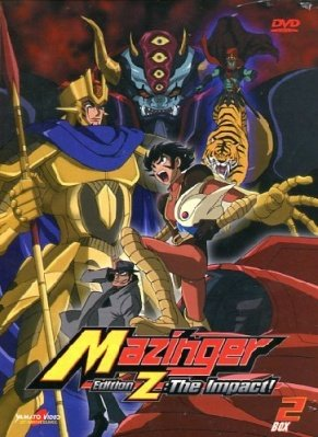 MAZINGER EDITION Z THE IMPACT BOX 02 (2 DVD)