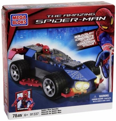 MEGA BLOKS THE AMAZING SPIDER-MAN SPEEDER