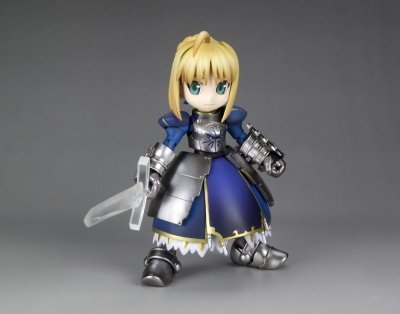 MODELLINO IN KIT FATE STAY NIGHT SABER MODEL KIT