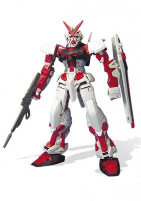 MODELLINO IN KIT GUNDAM ASTRAY RED MBF-P02 1/144 BANDAI MODEL KIT