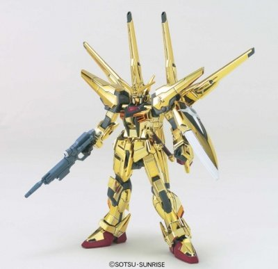 MODELLINO IN KIT GUNDAM HG SHIRANUI AKATSUKI ORB-01 1/144 BANDAI MODEL KIT