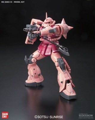 MODELLINO IN KIT MOBILE SUIT GUNDAM REAL GRADE MS-06S ZAKU II 1/144 MODEL KIT