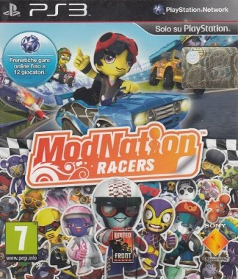 MODNATION RACERS PS3 USATO GARANTITO