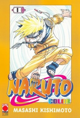 NARUTO COLOR 8