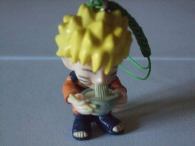 NARUTO GASHAPON CELLULAR STRAP