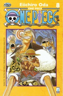 ONE PIECE NEW EDITION 8