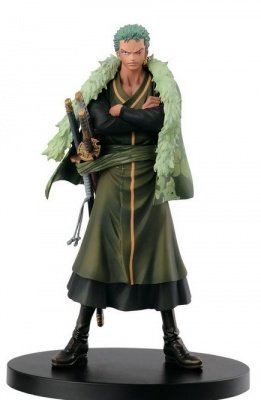 ONE PIECE ZORO THE GRANDLINE MEN 15TH EDITION VOL. 5 ACTION FIGURE