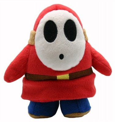 PELUCHE SHY GUY - SUPER MARIO