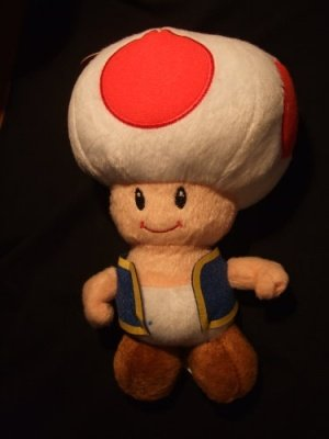 PELUCHE TOAD - SUPER MARIO NEW EDITION