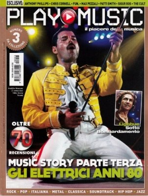 PLAY MUSIC 3 VARIANT COVER FREDDY MERCURY