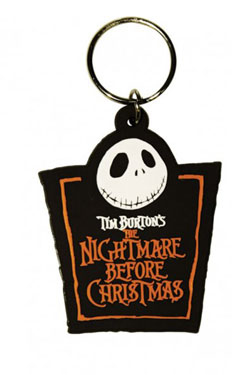 PORTACHIAVI JACK LOGO NIGHTMARE BEFORE CHRISTMAS