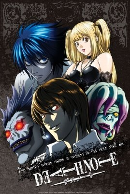 POSTER PLASTIFICATO DEATH NOTE GROUP