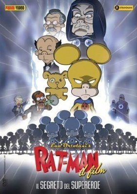 RAT-MAN IL FILM - IL SEGRETO DEL SUPEREROE - DVD
