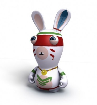 RAVING RABBIDS TRAVEL IN TIME INDIAN
