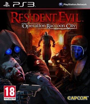 RESIDENT EVIL OPERATION RACCOON CITY PS3 USATO GARANTITO