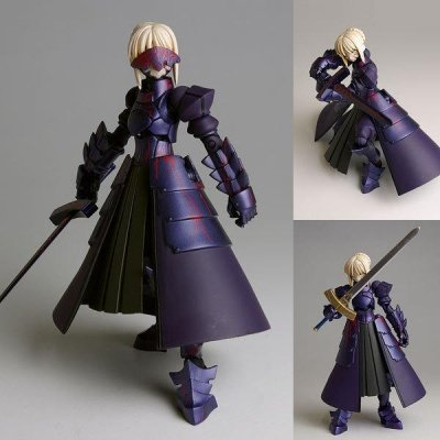 REVOLTECH SABER ALTER FATE STAY NIGHT ACTION FIGURE