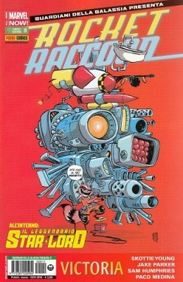 ROCKET RACCOON & IL LEGGENDARIO STAR-LORD 11