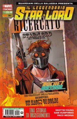 ROCKET RACCOON & IL LEGGENDARIO STAR-LORD 2 COVER B