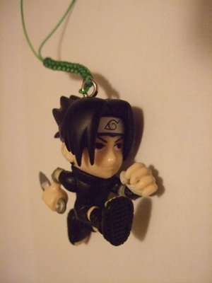 SASUKE GASHAPON CELLULAR STRAP