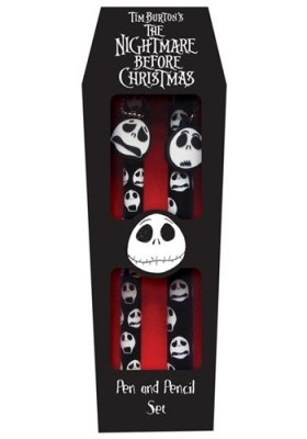 SET PENNA E MATITA NIGHTMARE BEFORE CHRISTMAS