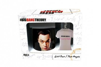 SET REGALO TAZZA + PORTACHIAVI THE BIG BANG THEORY