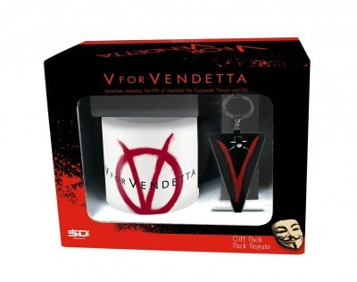 SET REGALO TAZZA + PORTACHIAVI V FOR VENDETTA 02