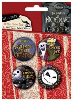 SET SPILLE JACK NIGHTMARE BEFORE CHRISTMAS