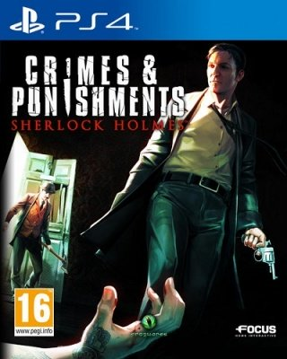SHERLOCK HOLMES CRIMES & PUNISHMENTS PS4 NUOVO