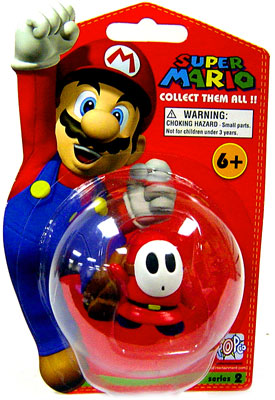 SHY GUY SUPER MARIO COLLECTION SERIE 2