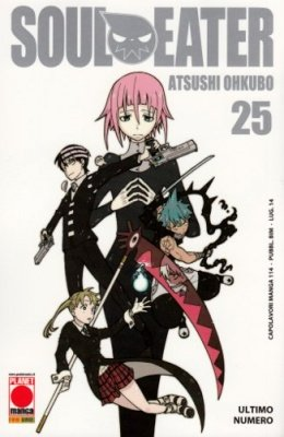 SOUL EATER 25 RISTAMPA